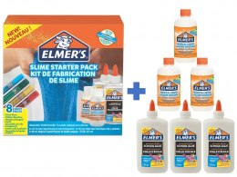 Elmer's zestaw EVERYDAY SLIME STARTER KIT
